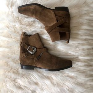 ALL SAINTS BOOTIES THESE ARE LIKE BRAND NEW Sz 38